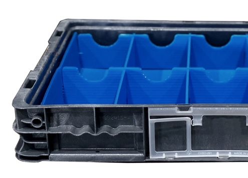 Arrow Packaging can put dunnage in totes and have done so for many businesses around the country.